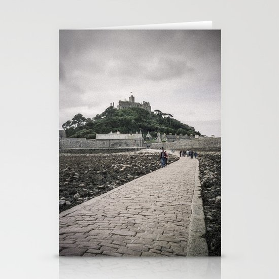 Faded Memories: St Michael's Mount, Cornwall Stationery Cards