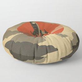 The Voyage (Grey) Floor Pillow