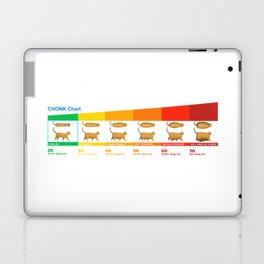 Cat CHONK Chart Meme Laptop & iPad Skin