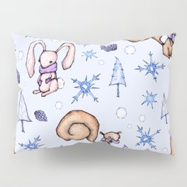 Blizzard Blues Pillow Sham