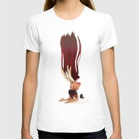 angel wings T-shirts featuring Angel Wings by Kiome-Yasha
