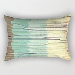 Shreds of Color 2 Rectangular Pillow