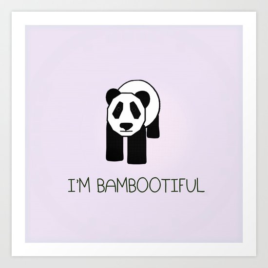 Bambootiful Art Print