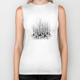 Pyramidal Neuron Forest Biker Tank
