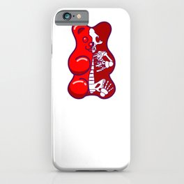Red Gummy Bear iPhone Case