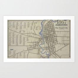 The Pearl City Art Print