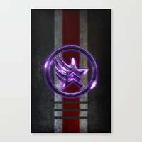 n7 Canvas Prints featuring N7 Paragade/Renagon by Toronto Sol