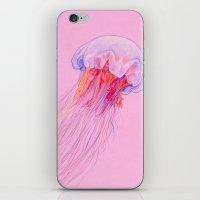 jellyfish iPhone & iPod Skins featuring Jellyfish by ShaMiLa