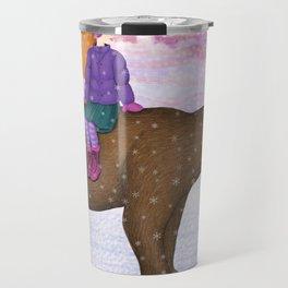 bear ride Travel Mug