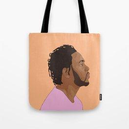 Kendrick Lamar, Salmon Tote Bag