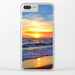 Summer of Memories Clear iPhone Case