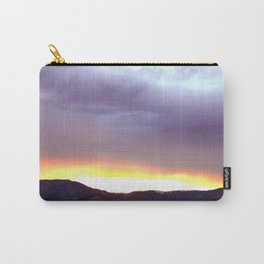 Wyoming Beartooth Mountain Sunset Carry-All Pouch