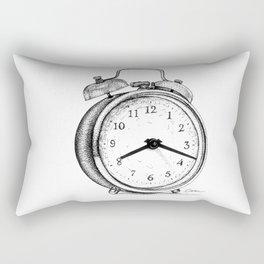 Clock watch Rectangular Pillow