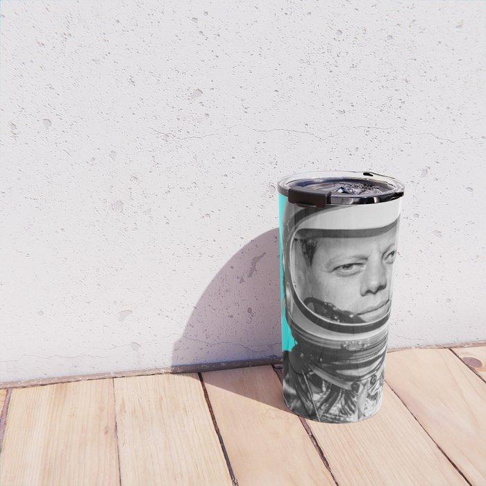 "JFK ASTRONAUT (or ""All Systems Are JFK"") Travel Mug"