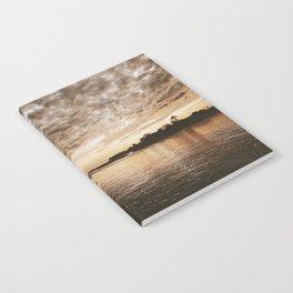 Golden Sunset Notebook