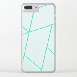 Pattern Xc Clear iPhone Case