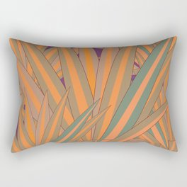 Colorful Agaves Rectangular Pillow