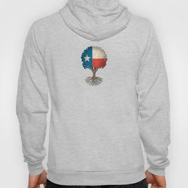 Vintage Tree of Life with Flag of Texas Hoody