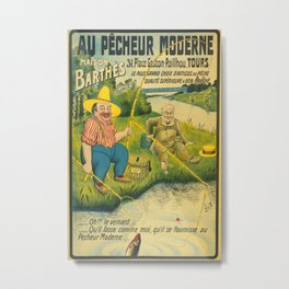 Maison Barthes Vintage Travel Poster Metal Print