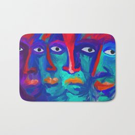 faces Bath Mat