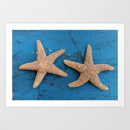 Secrets of the Ocean (Star Fish)  Art Print