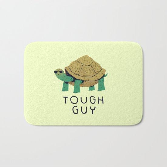tough guy Bath Mat