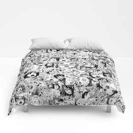 Ahegao classic Comforters
