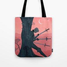 3 of Swords Tote Bag