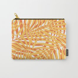 Hawaii, Palms Prints, Art Yellow and Orange Carry-All Pouch