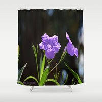 alone Shower Curtains featuring Alone by BeachStudio