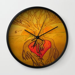 Root's Stay True Wall Clock