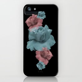 Glitch Roses iPhone Case