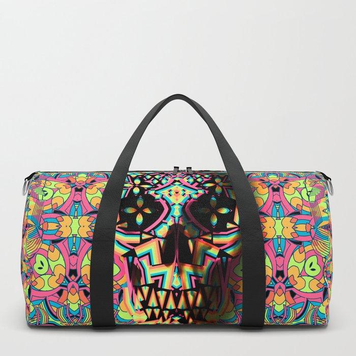 1d54649e967 Fancy Skull Duffle Bag by aligulec   Society6