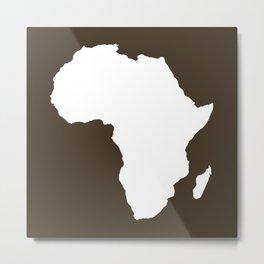 Cola Audacious Africa Metal Print
