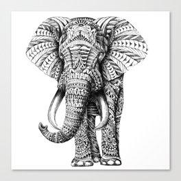 ELEPHANT--MANDALA Canvas Print