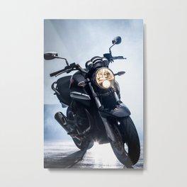 moto Metal Print