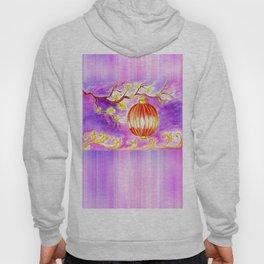 Oriental lantern Purple sky Hoody