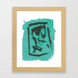 未釈契文Ⅰ-2 Framed Art Print