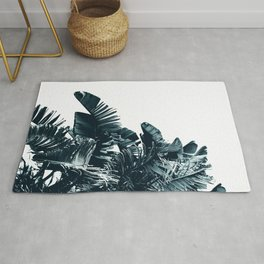 Cyan Palm #1 Rug