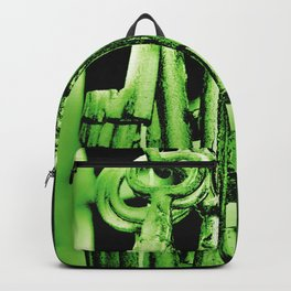 Hanging Keys-Green Backpack