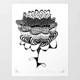 Exotic Flower Art Print