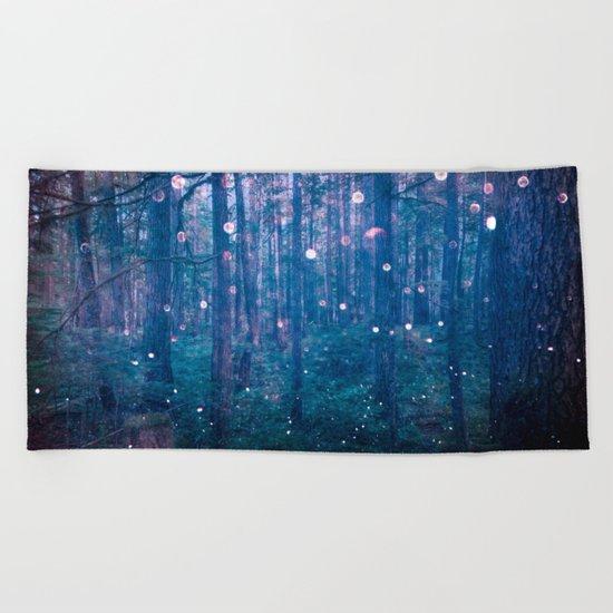 Fairy Lights Beach Towel