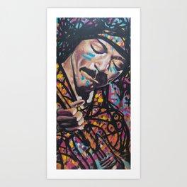 Voodoo Child Art Print