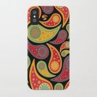 bohemian iPhone & iPod Cases featuring Bohemian Paisley  by Digi Treats 2