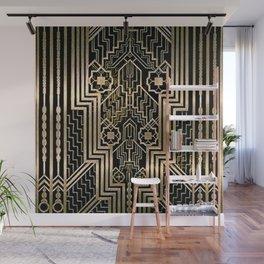 Art Nouveau Metallic design Wall Mural