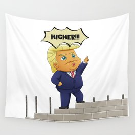 Donald Trump - Build The Wall Wall Tapestry