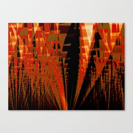 Citadel Abstract Fractal Art Canvas Print