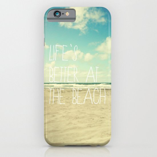life's better at the beach iPhone & iPod Case