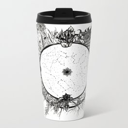 Cosmic Wheel Metal Travel Mug