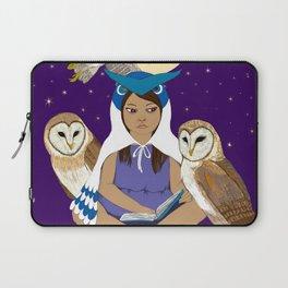 Owl Girl Laptop Sleeve